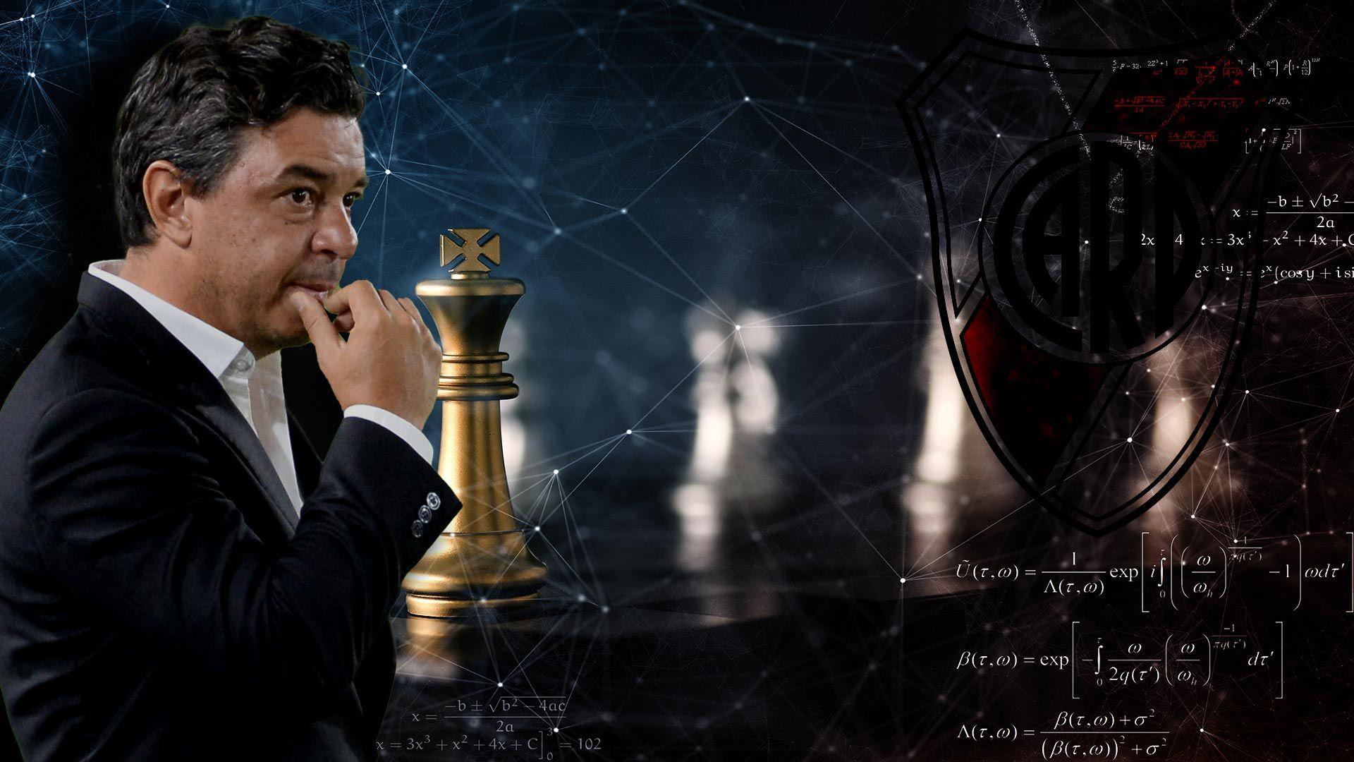 Marcelo Gallardo ajedrez river 1920