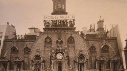 Edificio del diario La Prensa