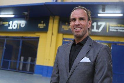 Carlos Navarro Montoya, ex arquero y dirigente de Boca (EFE/Javier Caamaño/Archivo)