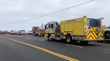 Los bomberos recibieron el informe cerca de las 16:30 horas de este jueves 25 de junio. (Foto: Twitter@VCFD_PIO)
