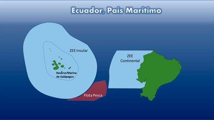Uno de los gráficos que publicó la Cancillería ecuatoriana (@CancilleriaEc)