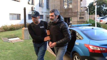 Roberto Baratta cuando fue detenido