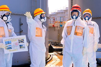 Fukushima. REUTERS/Pool/File Photo