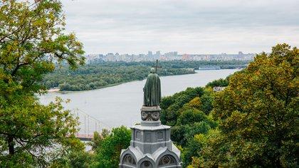 """Vladimir I """"custodia"""" la ciudad de Kiev, Ucrania (Shutterstock)"""
