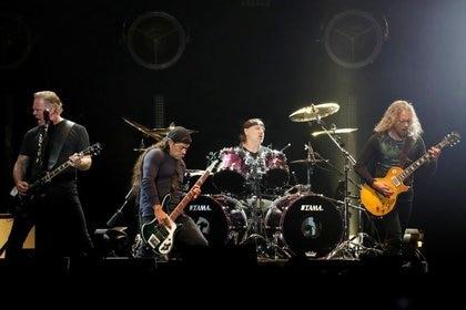 Foto de archivo ilustrativa de Metallica tocando durante un tributo a Chris Cornell en Inglewood, California Ene 16, 2019. REUTERS/Mario Anzuoni