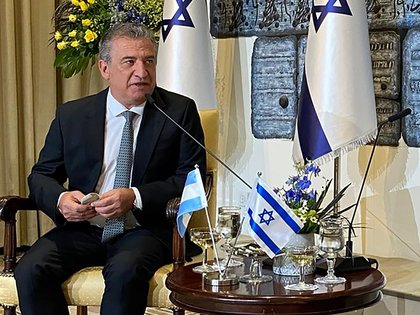 Sergio Urribarri, embajador argentino en Israel
