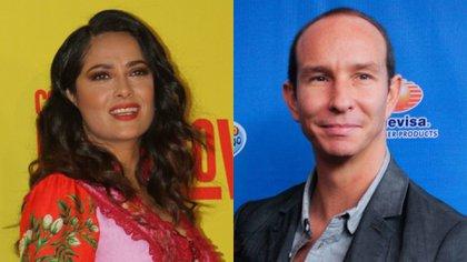 Erik Rubín reveló que tuvo un romance de una noche con Salma Hayek (Foto: Cuartoscuro)