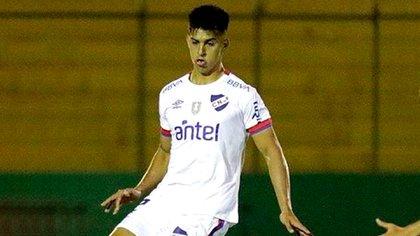 River sigue de cerca los pasos del defensor uruguayo Mathias Laborda (Facebook Club Nacional de Football)