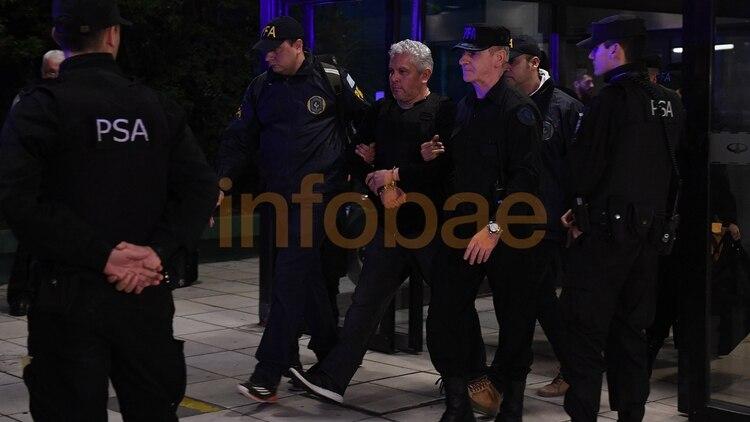 La detención de Gutiérrez (Foto: Maximiliano Luna)
