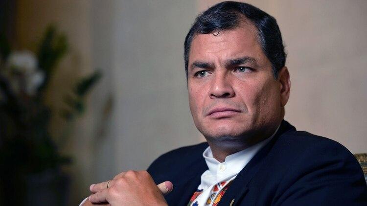 Rafael Correa, ex presidente de Ecuador