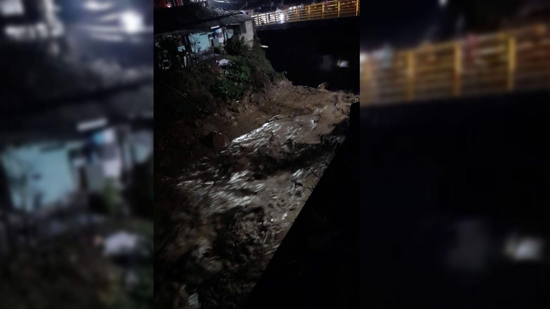 Mocoa río emergencia