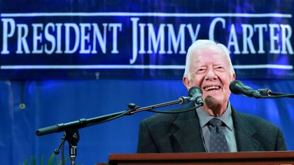 Jimmy Carter es el presidente de EEUU más longevo (AP)