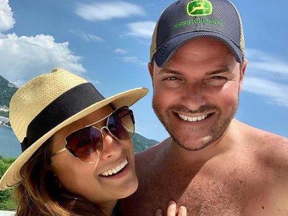 Apenas en octubre de 2020 Linet y su ex se fueron de vacaciones (IG: linetpuente)