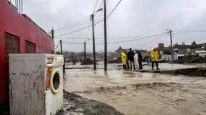 Todavía no se calculó el valor de las pérdidas causadas por el temporal (Florencia Downes/Télam)