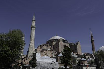 Vista general de la Santa Sofía, Estambul (Emrah Oprukcu/Contacto)