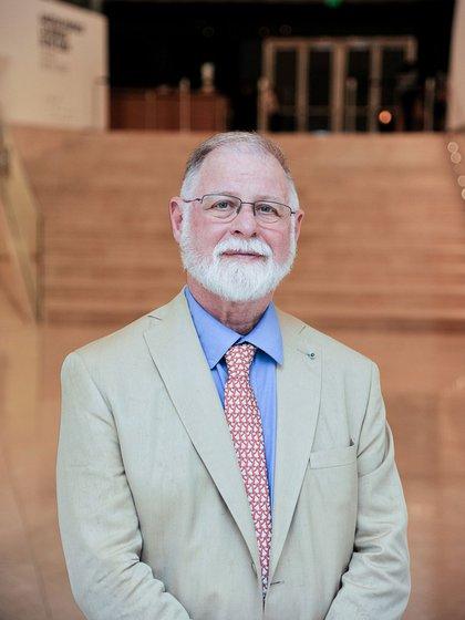 Alberto Manguel, director de la Biblioteca Nacional (Foto: Alejandro Guyot / Cortesía Malba)