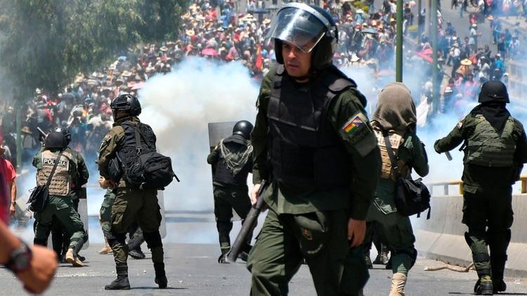 Protestas en Cochabamba