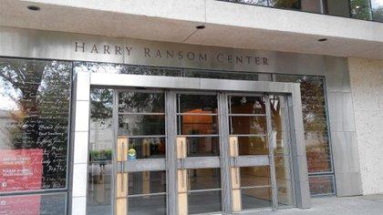 Centro Harry Ransom, de la Universidad de Texas, en Austin (google strew)