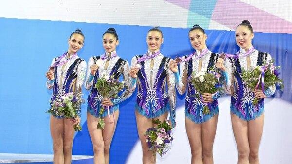 Las israelíes ganaron la medalla de oro en el campeonato europeo de gimnasia rítmica