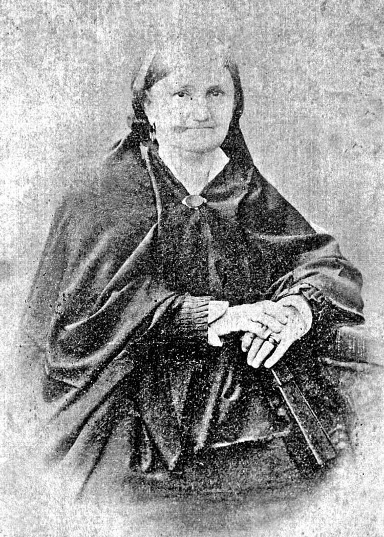 Angela Baudrix, la esposa de Dorrego, vivió de manera austera tras el fusilamiento de su esposo