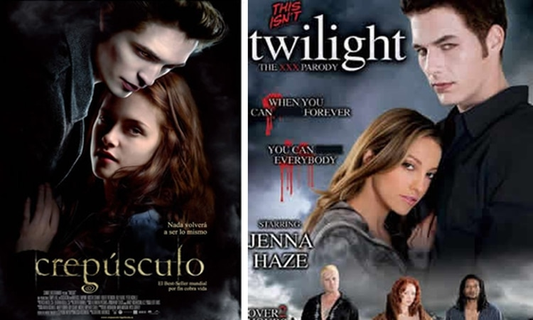 Twilight film porno