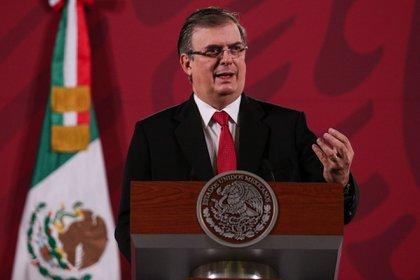 El canciller Marcelo Ebrard aseguró que Cienfuegos llegará a México en calidad de ciudadano libre (Foto: GALO CA�AS/CUARTOSCURO)