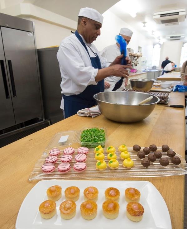 El menú tradicional se preparará en la cocina de Windsor