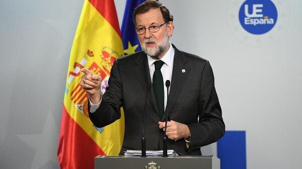 El presidente Mariano Rajoy (AFP)