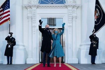 Biden asumió hoy como presidente de los Estados Unidos (foto REUTERS)