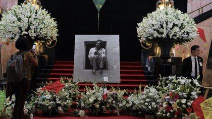 En el Palacio de Bellas Artes, en la capital de México, también rindieron un homenaje al artista oaxaqueño Francisco Toledo (Foto: Cuartoscuro)