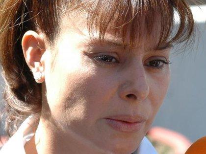 Yadhira Carrillo no ha parado de acudir al Reclusorio a visitar a su esposo (Fotografía: Captura de pantalla ventaneando)