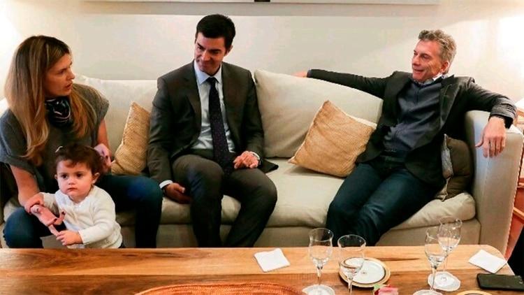 La foto distendida de Urtubey y Macri