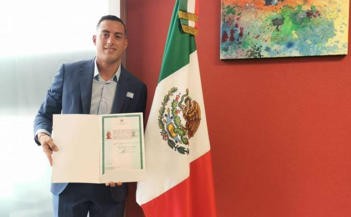 Rogelio Funes Mori ya es mexicano (Foto: Twitter/@rogelio7funes)