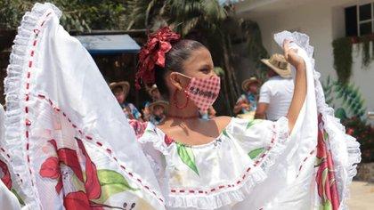 Actividades culturales en Puerto Colombia.