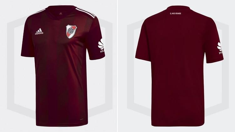Se filtraron las fotos de la camiseta que usaría River en 2019  el ... e77977de04ff0