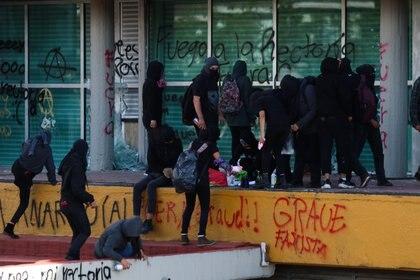Protesta del 14 de noviembre en Ciudad Universitaria (Foto: GALO CAÑAS /CUARTOSCURO)