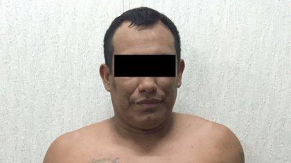 """Foto policial de Richard Castillo, """"El Mocosón""""."""