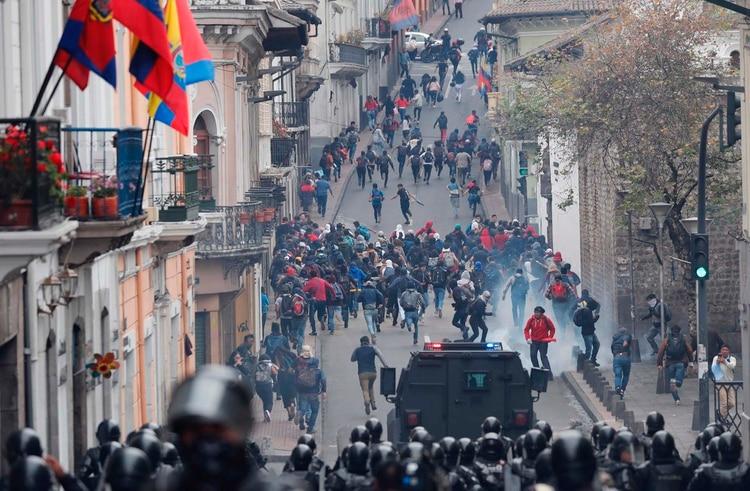 El presidente de Ecuador decretó esta semana el
