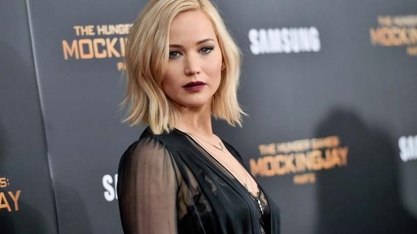 Jennifer Lawrence, ¿la nueva mujer de los sueños de Brad? (AP)
