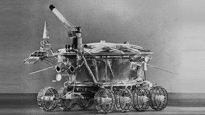 """El robot Lunokhod 1 (""""caminante lunar"""") que los soviéticos enviaron a la Luna en el año 1970, después de la misión estadounidense Apolo 11"""