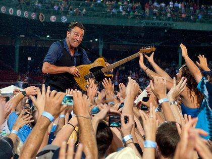 Bruce Springsteen y la E Street Band en Fenway Park, Boston (Shutterestock)