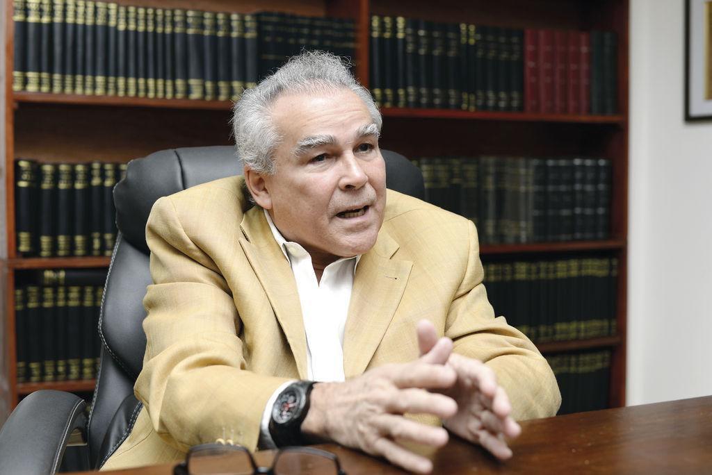 Noel Vidaurre, candidato presidencial de Nicaragua