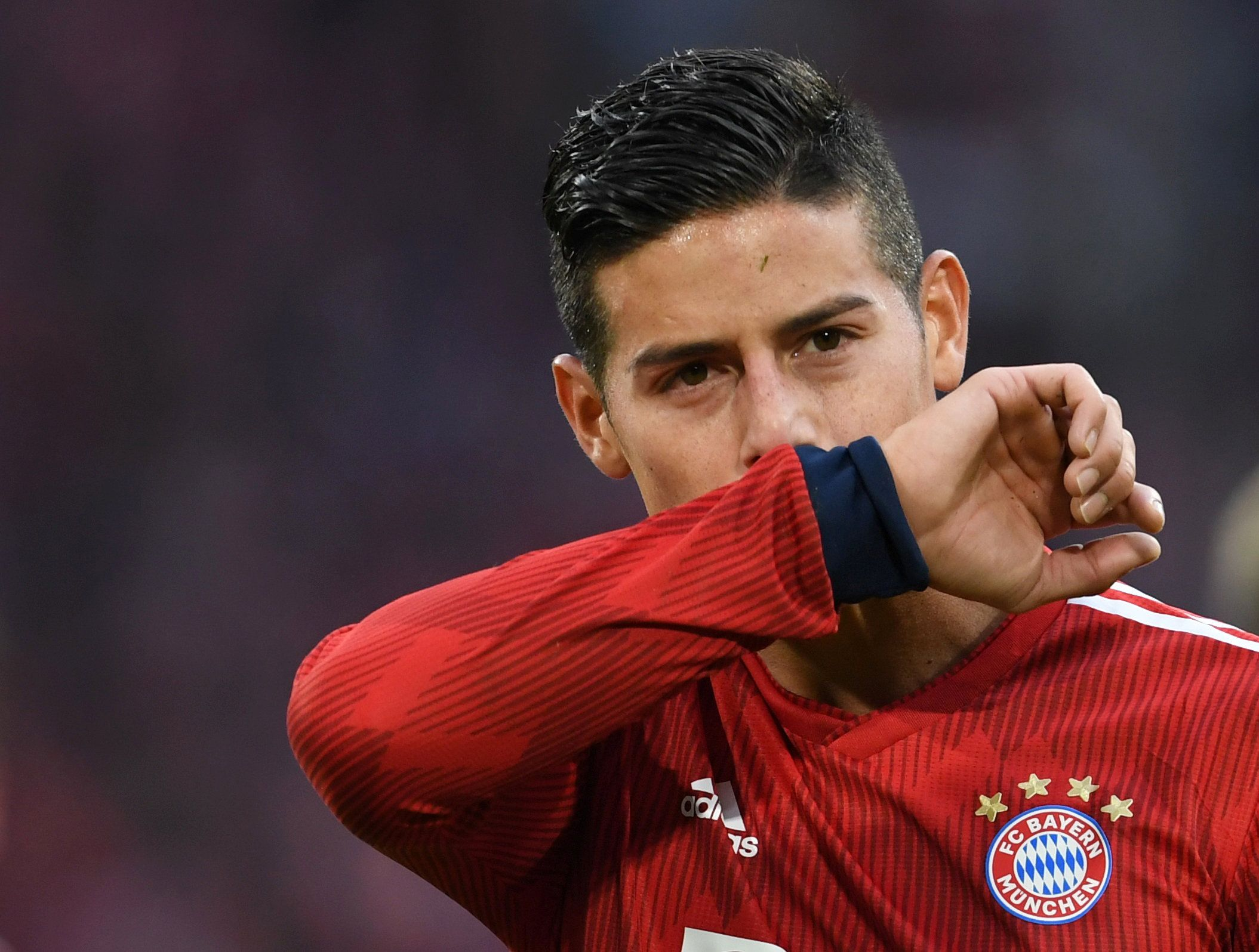 James Rodríguez se mostró muy agradecido al Bayern Munich (Reuters/ Andreas Gebert)