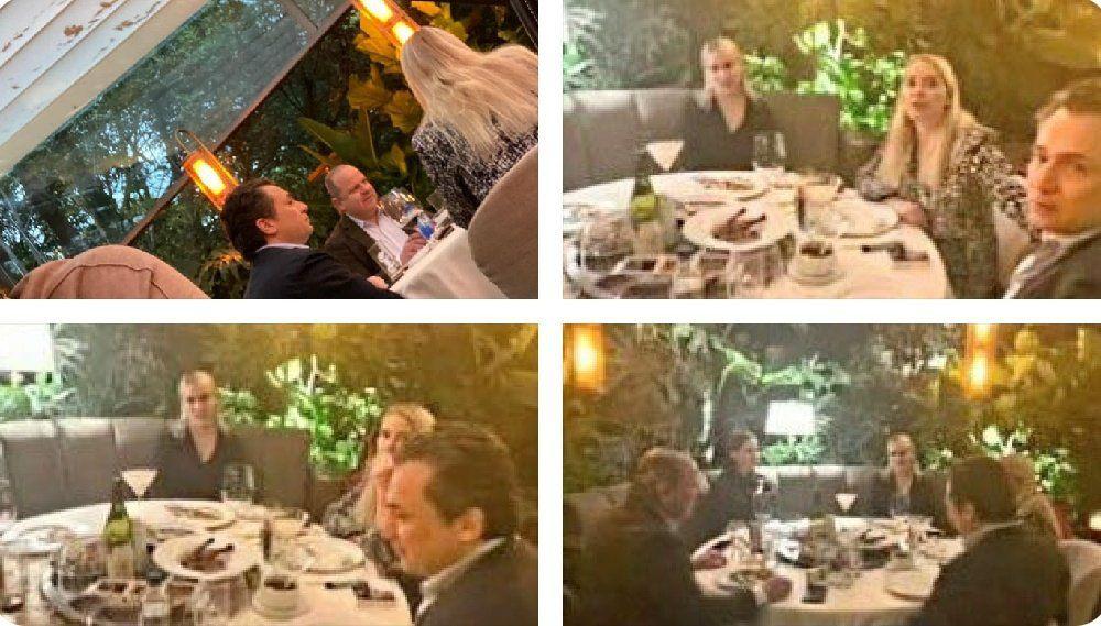 Emilio Lozoya fue captado al interior de un restaurante de lujo en la Ciudad de México (Foto: Twitter / @lumendoz)