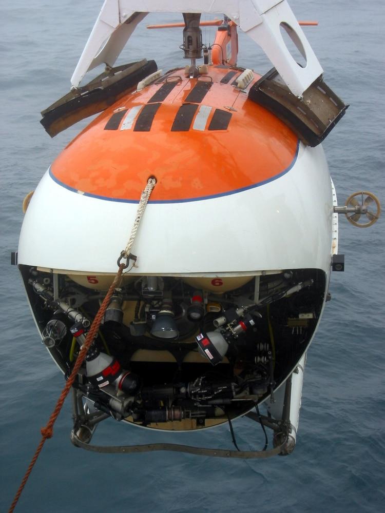 Un minisubmarino ruso Mir 1
