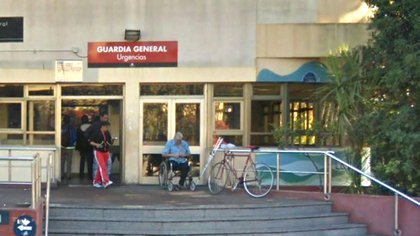 El chico baleado fue trasladado al hospital Gandulfo en grave estado (Google Maps)