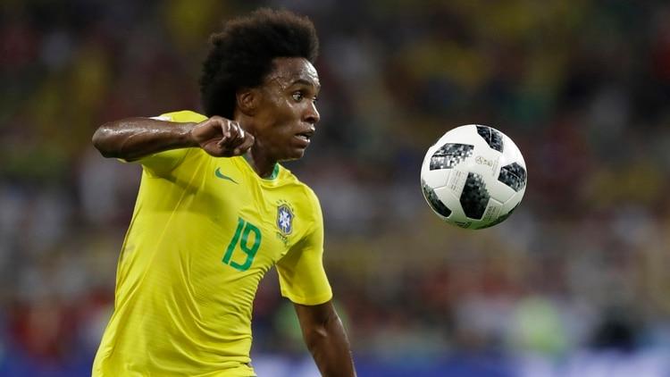 Willian, jugador del Chelsea, jugó el Mundial de Rusia 2018 con la selección brasileña