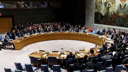 Consejo de Seguridad de las Naciones Unidas en la sede de las Naciones Unidas, en Nueva York (EFE/Justin Lane/Archivo)
