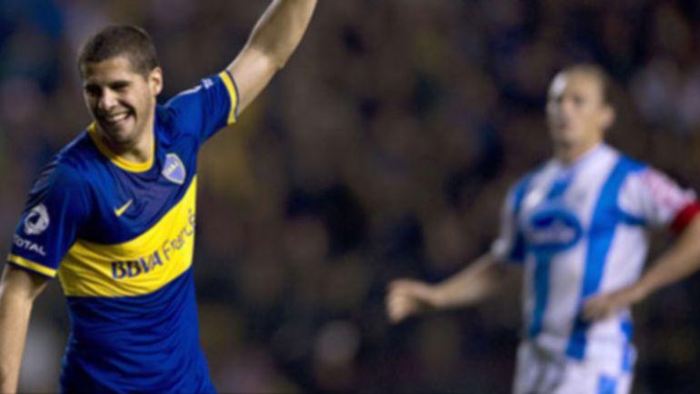 Emiliano Insúa, ex jugador de Boca que juega en Los Ángeles Galaxy