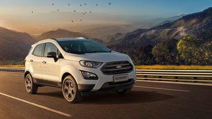El SUV más vendido, Ford Ecosport, con tasa 0% en 12 meses.